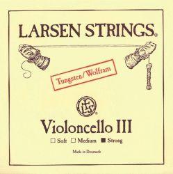 Larsen G волфрам medium - единична струна за чело