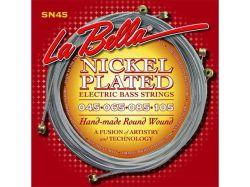 La Bella M45  струни за 4 стр.бас китара stainless steel 045/105
