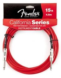 Fender Cable California 4.5 m L.P. Red
