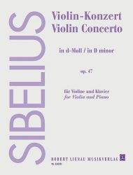 Jean Sibelius - Violin Concerto op. 47 for violin and piano