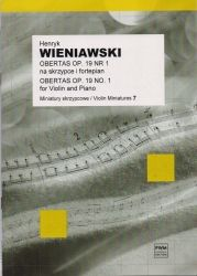 Wieniawski - Obertas op. 19 No. 1 for violin and piano