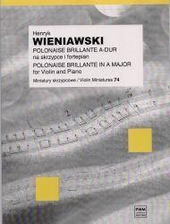 Wieniawski - Polonaise Brillante In A Major Op 21 for violin and piano