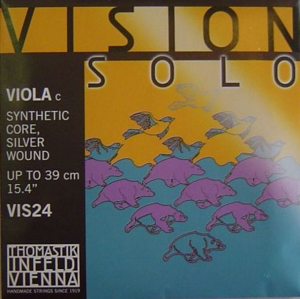 Vision Solo Synthetic core Silver Wound единична струна за виола - C