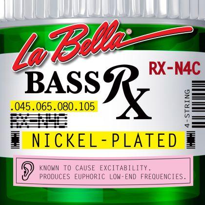 La Bella RX-N4C  струни за 4 стр.бас китара nickel plated 045/105