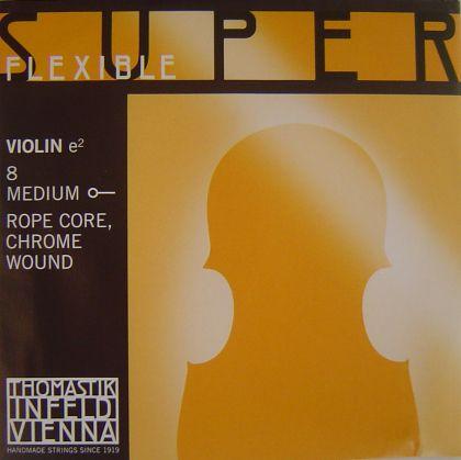 Thomastik Superflexible струна за цигулка E Rope core/Chrome wound