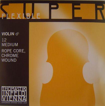 Thomastik Superflexible струна за цигулка D Rope core/Chrome wound