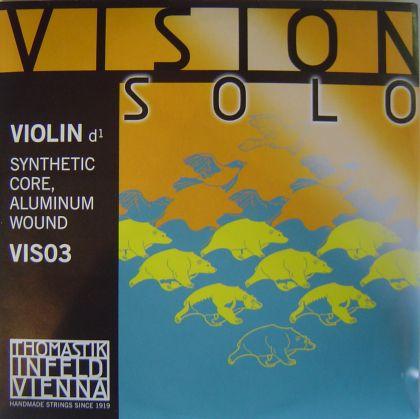 Thomastik Vision solo synthetic core единична струна - D