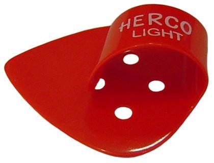 Herco® Flat/Thumbpicks - red light