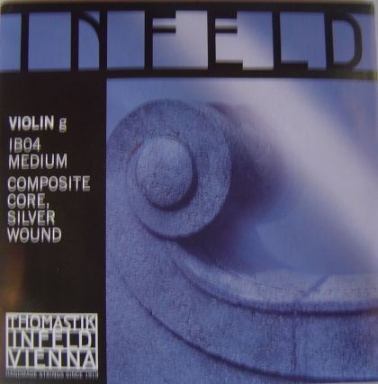 Thomastik Infeld blue composite core - единична струна G - composite core, silver wound