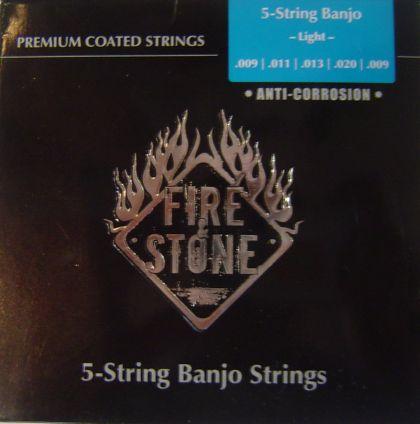 Fire&Stone струни за 5-струнно банджо