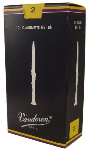 Vandoren платъци за В кларинет размер 2 - кутия