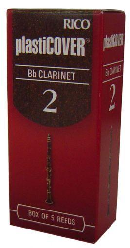 Rico Plasticover платъци за кларинет размер 2 - кутия