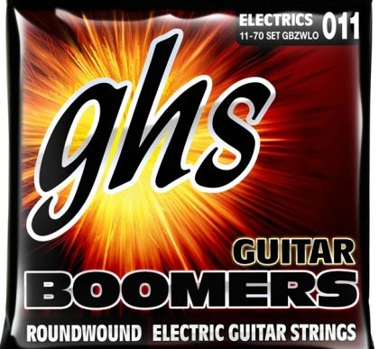 Boomers Zakk Wylde signature electric guitar strings GBZWLO - 011-070