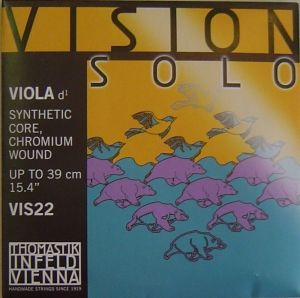 Vision Solo Synthetic core Chromium Wound единична струна за виола - D