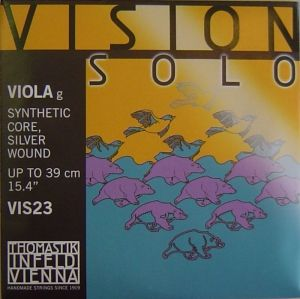 Vision Solo Synthetic core Silver Wound единична струна за виола - G