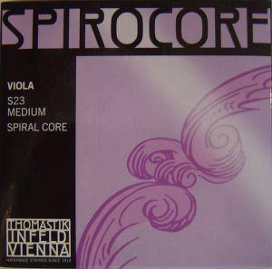 Thomastik Spirocore spiral core chrome wound струни за виола - комплект