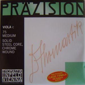 Thomastik Precision единична струна за виола Solid steel core Chrome wound - C