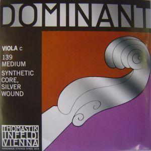 Thomastik Dominant Synthetik core Silver  wound единична струна за виола - C