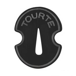 Сурдина за цигулка Tourte с формата на цигулка