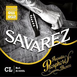 струни Savarez A140CL 11-52 за акустична китара phosphore bronze