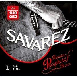 струни Savarez A140L 12-53 за акустична китара phosphore bronze