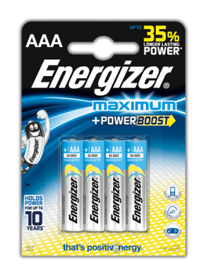 батерия  Energizer AA+ алкална maximum power boost