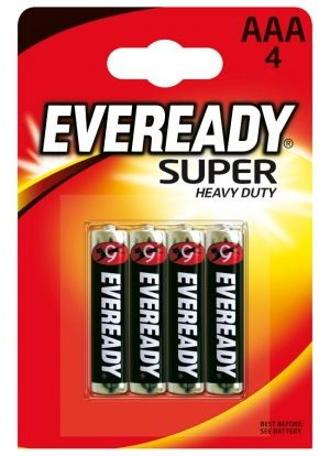 батерии  Eveready AAA super heavy duty