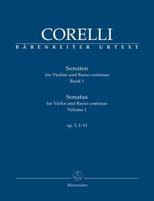 Корели - Сонати оп.5 за цигулка и басо континуо том 2