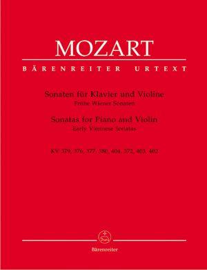 Моцарт - Сонати за пиано и  цигулка   KV  379,376,377,380,404,372,403,402
