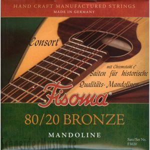 Fisoma Bronze Consort струни за мандолина  -комплект