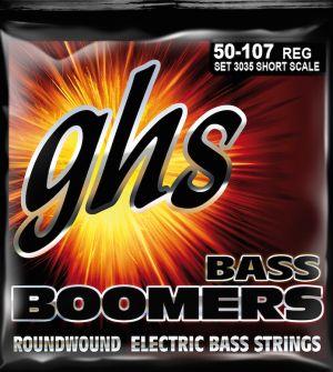 GHS R3035 Boomers струни за 4-струнна бас китара - 050 - 107