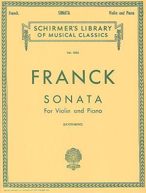 Франк - Соната за цигулка и пиано