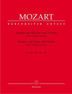 Моцарт - Сонати за пиано и  цигулка   KV  454,481,526,547