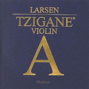 Larsen Tzigane E steel  medium единична струна за цигулка