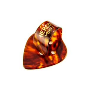 Herco® Flat/Thumbpicks - shell heavy