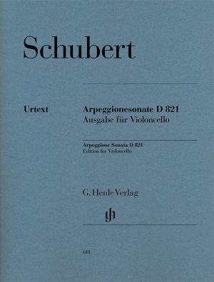 Шуберт - Соната Arpeggione в ла минор  D 821 за чело