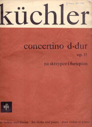 Кюхлер-Концертино за цигулка оп.12 ре мажор