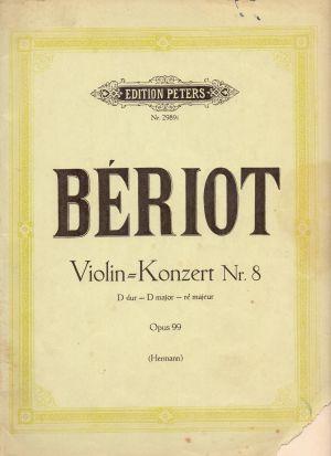 Берио - Концерт за цигулка Nr.8 ре мажор оп.99