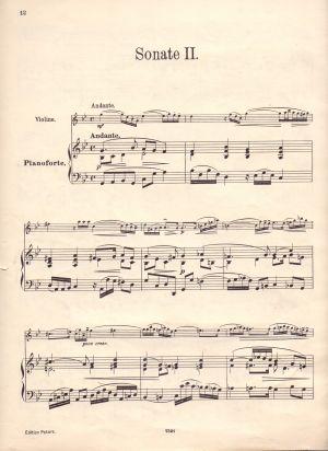 Хендел - Три Сонати само цигулков щим