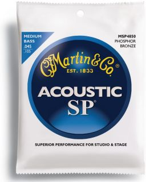 Martin  SP - MSP4850 Phosphor bronze струни за акустична бас китара 045/105