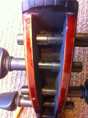 Wittner Ключове за цигулка с финна настройка - комплект medium