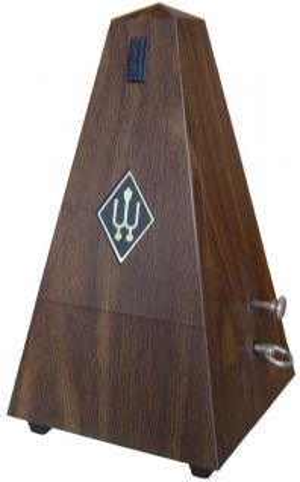 Wittner метроном модел  Maelzel No. 855 131 орех със звънче