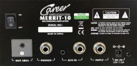 Career Merrit-10 Recording Amp