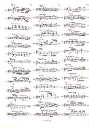 Клементи - Етюди за пиано  том  III