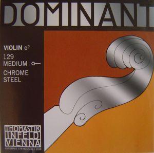 Thomastik Dominant струна за цигулка E Chromsteel