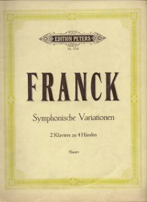 Франк - Соната в ла мажор само цигулков щим