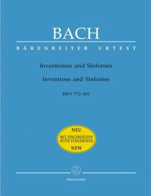 Бах - Инвенции и Синфонии  BWV 772-801