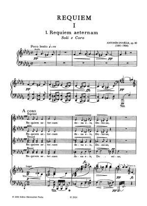 Дворжак - Реквием оп.89