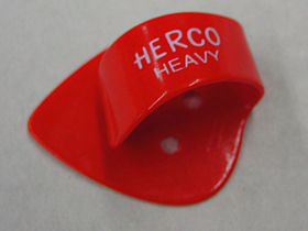 Herco® Flat/Thumbpicks - red heavy