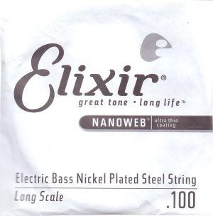 Elixir Stainless steel 5-та единична струна с NANOWEB покритие  - размер: 130